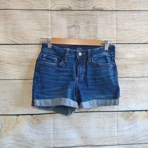 💟5/$25 A.N.A Denim Short Cuffed Shorts 2